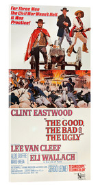 Acrylglas print  The Good, the Bad and the Ugly