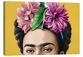 Canvas print  Frida - Claudio Limón
