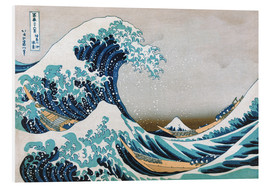 PVC print  De grote golf van Kanagawa - Katsushika Hokusai