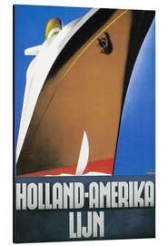 Aluminium print  Holland-Amerika - Wim ten Broek