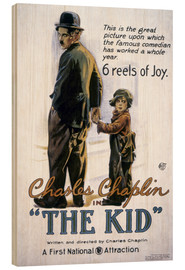 Hout print  Chaplin: The Kid, 1920