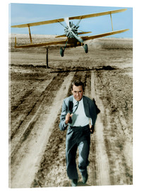 Acrylglas print  Cary Grant in North by Northwest