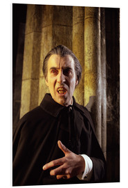 PVC print  Taste the Blood of Dracula ?, Christopher Lee, 1970