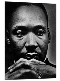PVC print  Martin Luther King Jr.