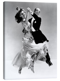 Canvas print  Rita Hayworth and Fred Astaire