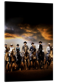 Acrylglas print  THE MAGNIFICENT SEVEN
