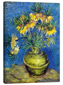 Canvas print  Fritillaries in a Copper Vase - Vincent van Gogh