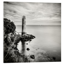 Acrylglas print  [the forgotten lighthouse] - Mario Benz