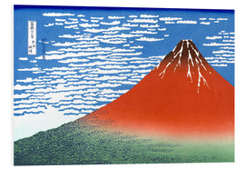 PVC print  Mt. Fuji in clear weather - Katsushika Hokusai