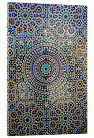 Acrylglas print  Mosaic wall of a fountain - Kymri Wilt