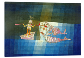 Acrylglas print  Sinbad the Sailor - Paul Klee
