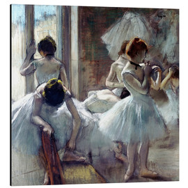 Aluminium print  dancers Group - Edgar Degas