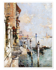 Premium poster The Grand Canal, Venice