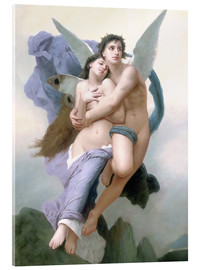 Acrylglas print  Abduction of Psyche - William Adolphe Bouguereau