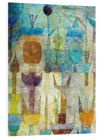 PVC print  Plants early in the morning - Paul Klee