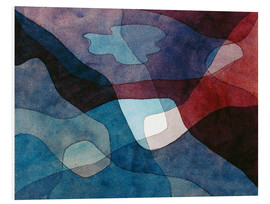 PVC print  Mountain and Air Synthetic - Paul Klee