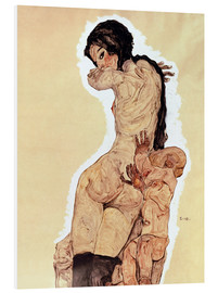 PVC print  Mother and Child - Egon Schiele