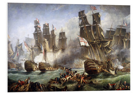 PVC print  The Battle of Trafalgar