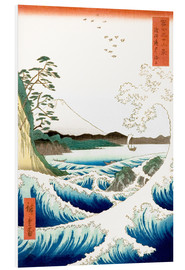 PVC print  The Sea off Satta in Suruga Province - Utagawa Hiroshige