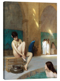 Canvas print  Frauenbad - Jean Leon Gerome