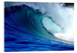 Acrylglas print  Big blue wave - Paul Kennedy