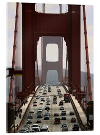 Acrylglas print  Golden Gate Bridge - Marcel Schauer