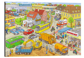 Aluminium print  Car Hidden Object City - Stefan Seidel