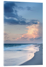Acrylglas print  Sylt, sunset at the beach - Markus Lange