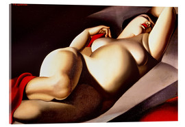 Acrylglas print  The beautiful Rafaela - Tamara de Lempicka
