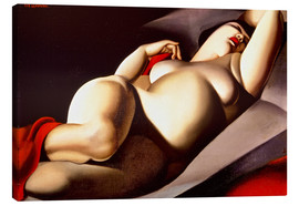 Canvas print  The beautiful Rafaela - Tamara de Lempicka