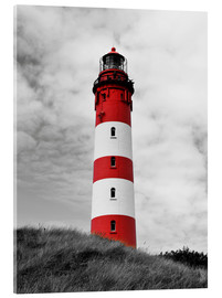 Acrylglas print  Lighthouse in Amrum, Germany - HADYPHOTO