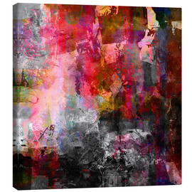 Canvas print  Abstract No. 105 - Wolfgang Rieger