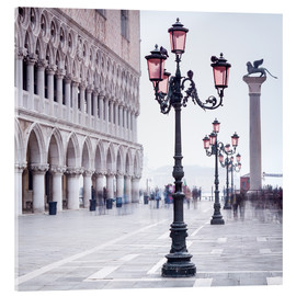 Acrylglas print  St. Mark's Square in Venice in Winter - Jan Christopher Becke