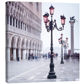 Canvas print  St. Mark's Square in Venice in Winter - Jan Christopher Becke