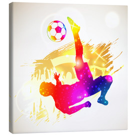Canvas print  Football Player - TAlex