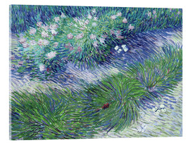 Acrylglas print  Butterflies and Flowers - Vincent van Gogh