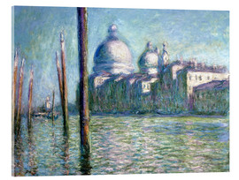 Acrylglas print  The Grand Canal - Claude Monet