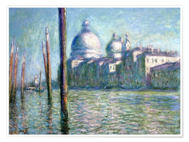 Premium poster The Grand Canal