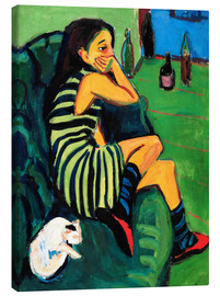 Canvas print  Marcella - Ernst Ludwig Kirchner
