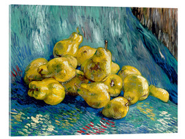 Acrylglas print  Still life with quinces - Vincent van Gogh