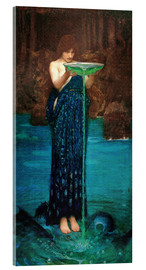 Acrylglas print  Circe Invidiosa - John William Waterhouse