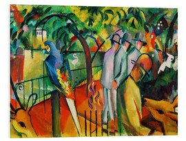 PVC print  Zoological Garden I - August Macke