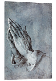Acrylglas print  Study of the apostle's hands - Albrecht Dürer