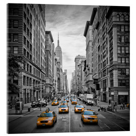 Acrylglas print  NEW YORK CITY 5th Avenue Traffic - Melanie Viola