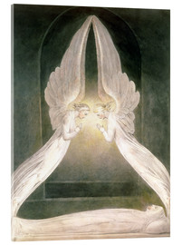 Acrylglas print  Christ in the Sepulchre, Guarded by Angels - William Blake