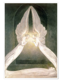 Premium poster Christ in the Sepulchre, Guarded by Angels
