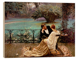 Hout print  The pride of Dijon - William John Hennessy