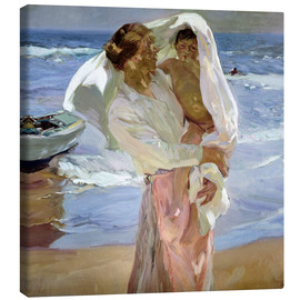 Canvas print  Just out of the sea - Joaquín Sorolla y Bastida