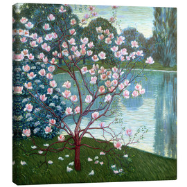 Canvas print  Magnolia - Wilhelm List