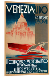 Acrylglas print  Venezia Lido 1930 - Travel Collection
